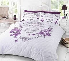 Bed Linen Sizes Uk - blanc de perle paris duvet cover quilt bedding set double bed