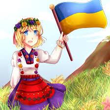 Ukrainian Flag Emoji For Ukraine By Bun Niii On Deviantart