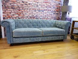 Denim Furniture Living Rooms Denim Chesterfield Sofa Chesterfield Sofa Chesterfield And