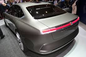 gmc sedan concept pininfarina debuts h600 hybrid sedan concept in geneva motor trend