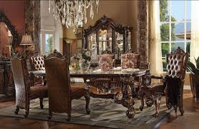 Dining Room Chairs Cherry Furniture Versailles Formal Dining Room Set In Cherry