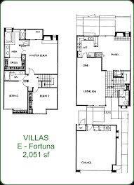 villas i floor plan whispering palms