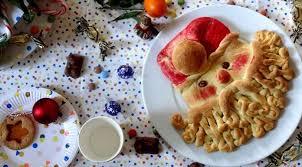 cuisine noel brioche père noël pour les petits enfants la tendresse en cuisine