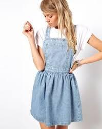 denim overall dress fashion collective pinterest overalls