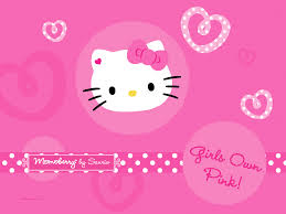 pink kitty wallpapers