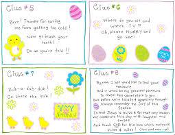 Backyard Scavenger Hunt Ideas Easter Morning Scavenger Hunt Free Printable Easter Easter