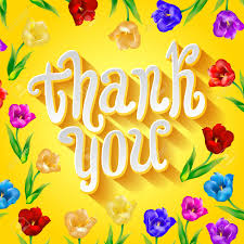 greeting card template in yellow and white great for thank you