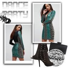 dance party sequin dress polyvore