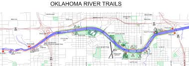 Maps Okc Ride River Trail Oklahoma Bicycle Society