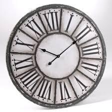 Horloge Murale Ronde Blanche Avec L Horloge Murale La Touche Tendance