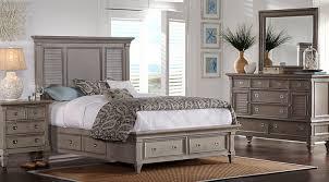 5 pc queen bedroom set belmar gray 5 pc queen panel bedroom with storage queen bedroom