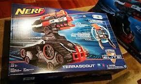 nerf remote control tank nerf n strike elite terrascout r c remote control blaster brand new