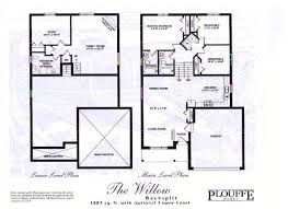 split floor plan house plans back split house plan home photo style