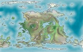 Blank Fantasy World Map by Fantasy Map Maker Online