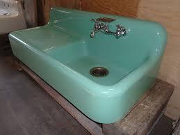 Cast Iron Kitchen Sinks by Cast Iron Kitchen Sink With Drainboard Mint Green U2014 Decor Trends