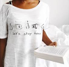 women u0027s hipster clothes shirt let u0027s stay