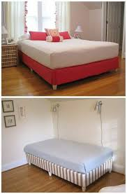 Bed Box Spring Frame Best 25 Box Spring Cover Ideas On Pinterest Upholstered Box