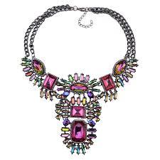 multi pendant necklace images Multi color pendant necklace symmetrical pendant necklace jpg