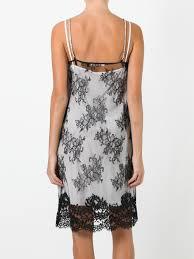 alyx lace overlay slip dress 031n black women clothing cocktail