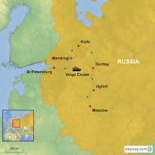 Moscow On Map Russia Cruising The Volga River From St Petersburg To Moscow