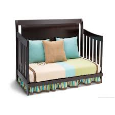 Simmons Convertible Crib by Delta Bentley 4 In 1 Convertible Crib Chocolate Delta