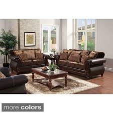 sofa set loveseat sofa sets for less overstock
