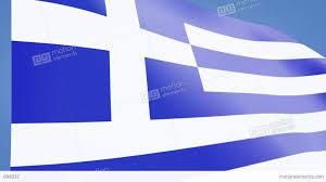 Greece Flag Colors Greece Flag Closeup Stock Animation 698337