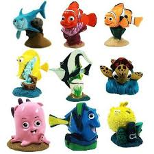 nemo cake toppers disney pixar finding nemo playset the best price in