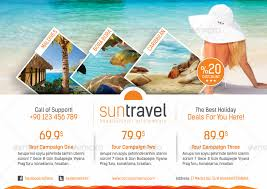 travel tours images Travel tours flyer templates by grafilker graphicriver jpg