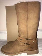 s suede boots size 11 ugg australia womens braiden chestnut suede boots size 11 ebay