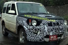 scorpio car new model 2013 mahindra scorpio gets one more facelift before new model in 2017 18