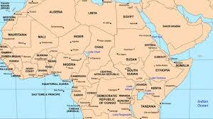 africa map states a changing map how small wars are redrawing africa s borders