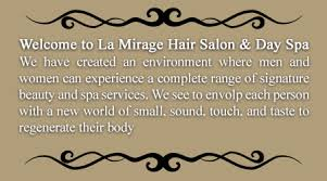 la mirage hair u0026 day spa nails deep tissue therapeutic massage