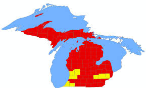 Michigan County Maps by All But Two Michigan Counties Rejected Proposal 2 Michigan