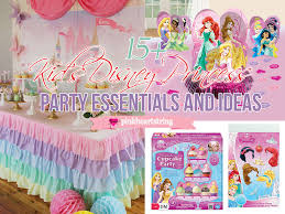 Disney Princess Party Decorations Pink Heart String 15 Kids Disney Princess Party Essentials And Ideas