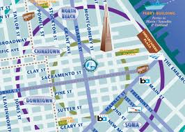 San Francisco Ferry Map by Pacific Tradewinds Hostel Map Pacific Tradewinds Hostel