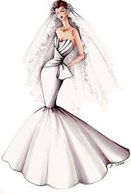 sketches of wedding dresses