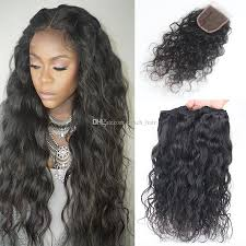 bob haircuts black hair wet and wavy 8a brazilian water wave hair with closure 3 bundles with closure