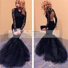 dresses for prom black backless vintage lace arabic evening dresses prom gowns 2015