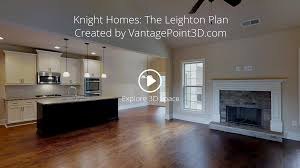 Open Floor Plan Homes by Knight Homes The Leighton Plan U2014 Vantagepoint 3d