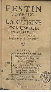 des vers dans la cuisine festin joyeux ou la cuisine en musique en vers libres par j