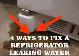 Dishwasher Leaks Water 5 Ways To Fix A Refrigerator Leaking Water Removeandreplace Com