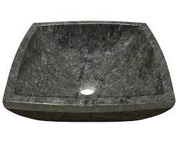 Bathroom Sink Stone 857 Butterfly Blue Granite Vessel Sink