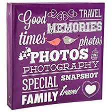 Travel Photo Album 4x6 Photo Album 500 Photos 4x6