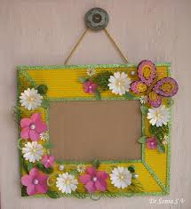 file cover design handmade cards crafts kids projects paper flowers on handmade photoframe