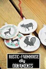 diy rustic farmhouse ornaments debbiedoos