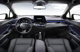 2017 Toyota C Hr Production Suv U0027s Interior Revealed