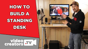 how i built my standing desk for cheap youtube