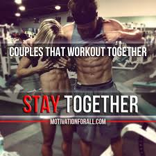 Fit Couple Meme - couples that workout together stay together fitness motivation
