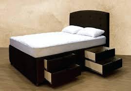 Twin Bed Frames Overstock Low Profile Bed Frame Twin Elegant Upholstered Platform Storage